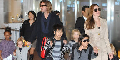 Brad Pitt, Angelina Jolie, Kinder