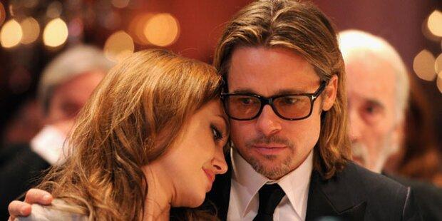 Jolie: Brad Pitt wachte an ihrem Bett