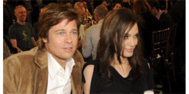 Jolie und Pitt spendeten 2006 8 Millionen