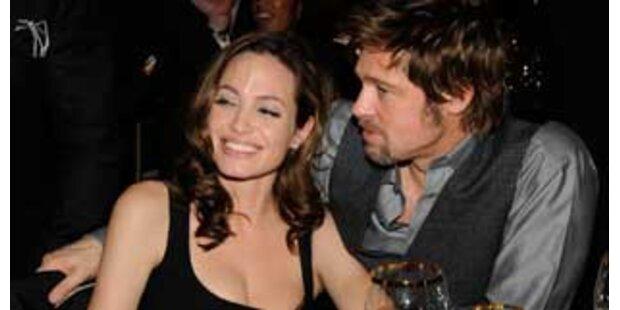 Hochzeitsgerüchte um Brad und Angelina Unsinn?