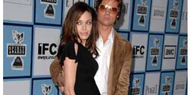 Erwartet Angelina Jolie Zwillinge?