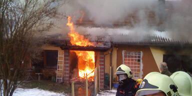 Traurige Weihnachten: Haustiere verbrannt