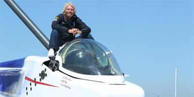 Richard Branson auf U-Boot