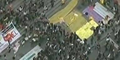 Brasilien: Unruhen vor Confederations Cup