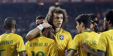 Brasilienelf kommt nach Wien