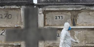 Mehr als 80.000 Corona-Tote in Brasilien