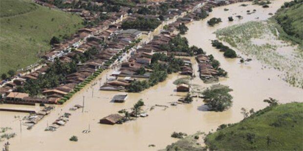 Dramatische Überschwemmungen in Brasilien