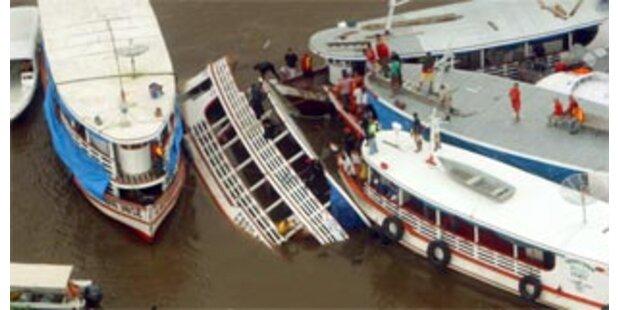 Schiffsunglück in Brasilien