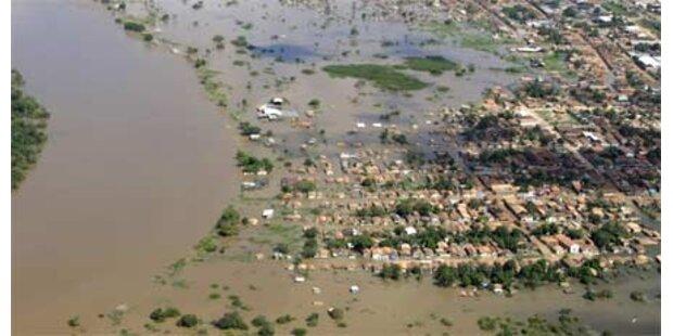 Hochwasser in Brasilien immer schlimmer