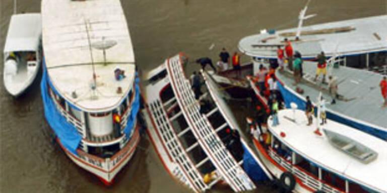 32 Tote bei Schiffsunglück in Brasilien