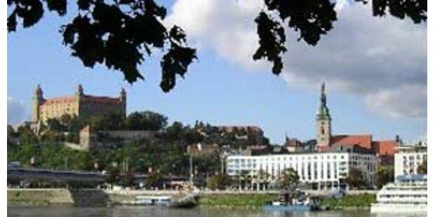 Hochwasser in Bratislava