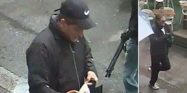 Polizei fahndet nach City-Bankräuber