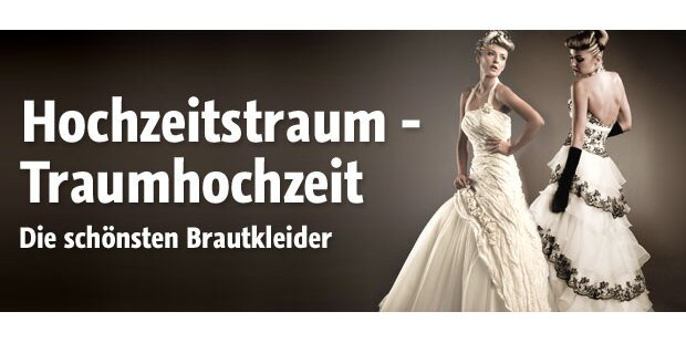 Brautkleider für die Traumhochzeit