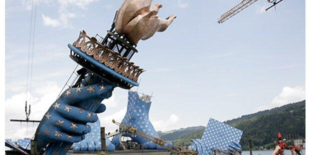 Bregenzer Seebühne ist der Publikumshit