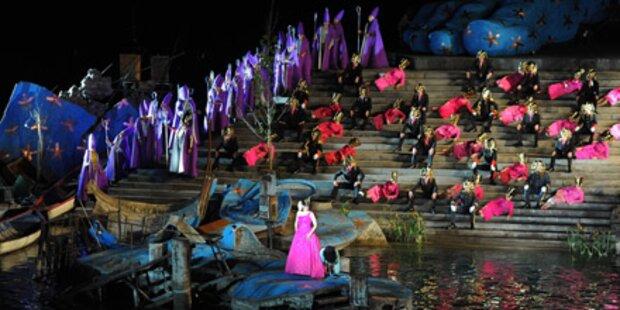 Aida-Reprise fällt ins Wasser
