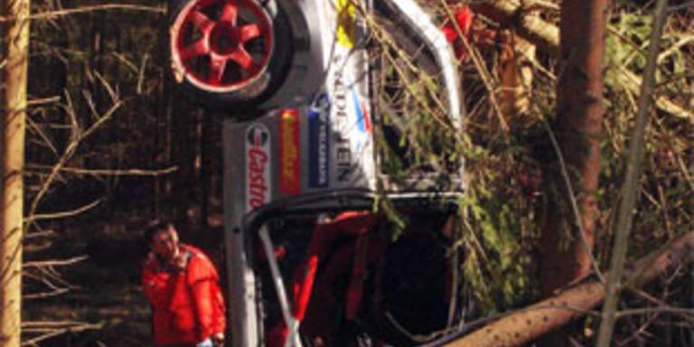 Herbert Breiteneder stirbt bei Lavanttal-Rallye