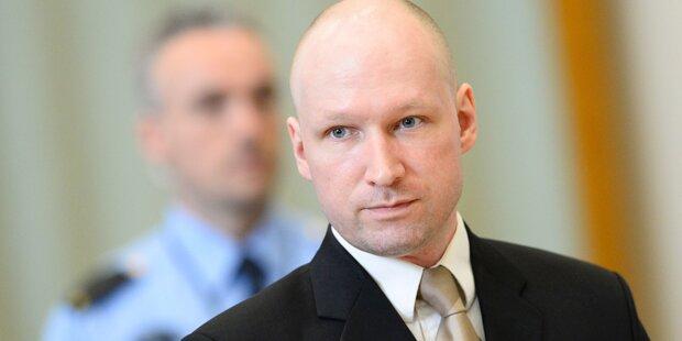 Breivik vergleicht sich mit Mandela