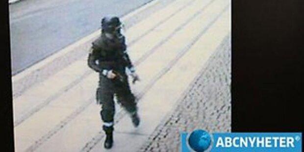 Fotos zeigen Oslo-Killer kurz vor Bombenanschlag