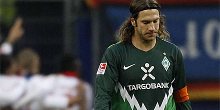 Werder Bremen mitten im Abstiegskampf