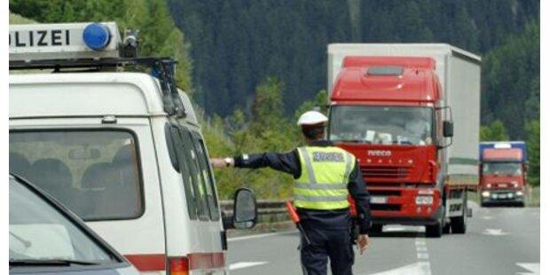 Brenner Richtung Italien gesperrt