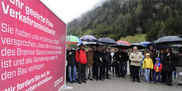 Bürgermeister blockieren den Brenner