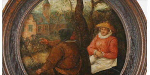 Flohmarkt-Bild war echter Brueghel
