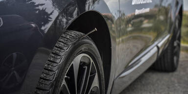 Nie mehr wegen Reifenpanne liegen bleiben