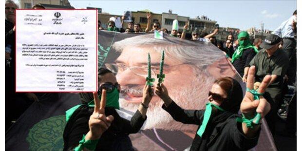 Khamenei sieht Ahmadinejad als Sieger