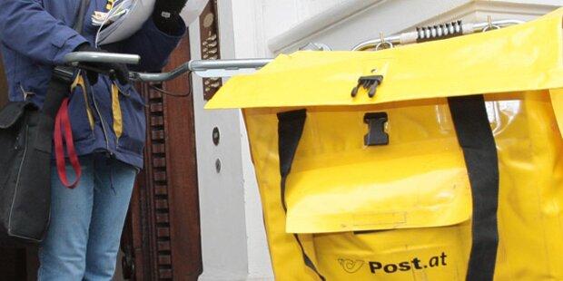 Postler zündet 700 Briefe an