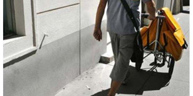 Briefträger hortete 300 kg Post zu Hause