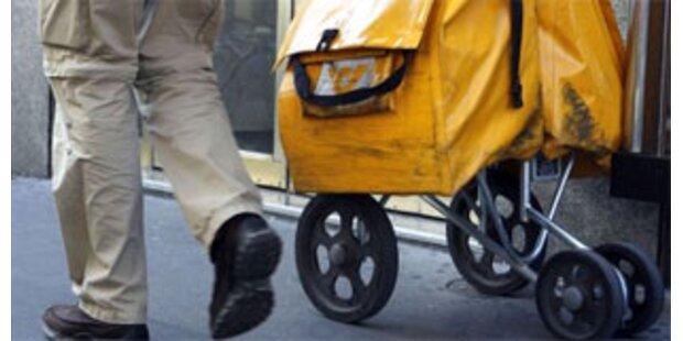 Briefträger warf 1.038 Briefe in den Müll