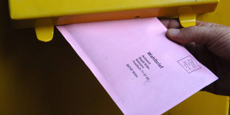 Die meisten Briefwähler haben gewählt