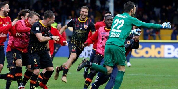 Torwart trifft Milan mitten ins Herz