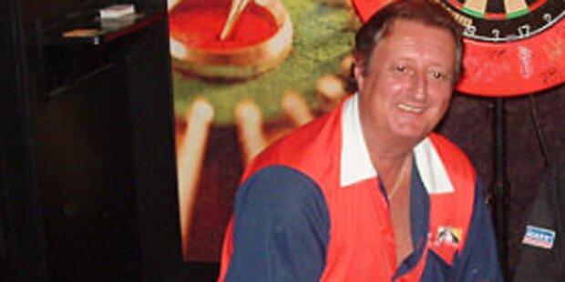 Darts-Legende stirbt bei Suljovic-Niederlage