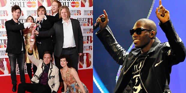 Tempah & Arcade Fire schlagen Take That