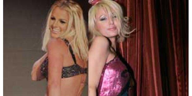 Strip-Showdown zwischen Paris und Britney