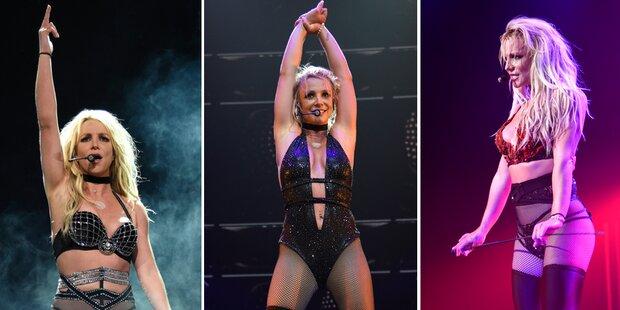 Spears: Ihre heiße Lack-und-Leder-Show