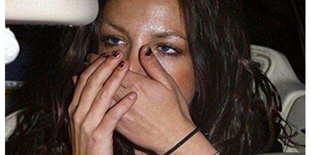 Britney's Lippe tut so weh