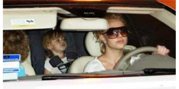 Britney darf nicht mehr mit Söhnen autofahren
