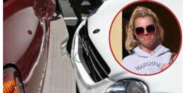 Kein Glück! Britney baute wieder Autounfall