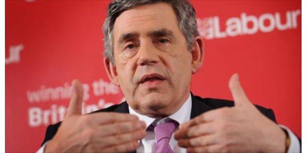 Brown geht gestärkt aus Labour-Treffen