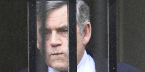 Gordon Brown tritt als Premier zurück