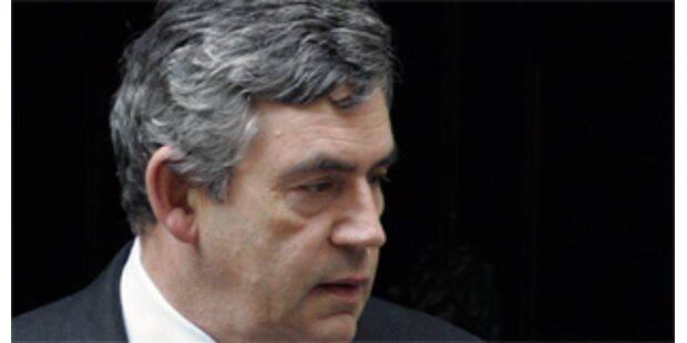 Brown verteidigt Absage der Neuwahlen