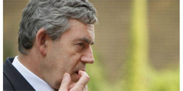 Eigene Partei setzt Premier Brown unter Druck