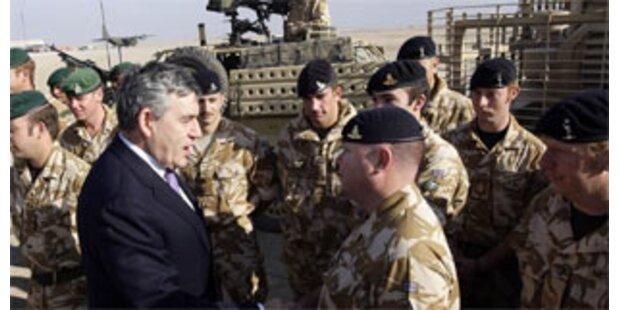 Britischer Premier Brown im Irak eingetroffen