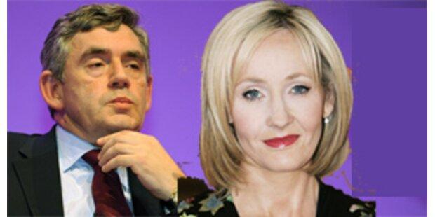 Premier Brown erhält Hilfe von J.K.Rowling