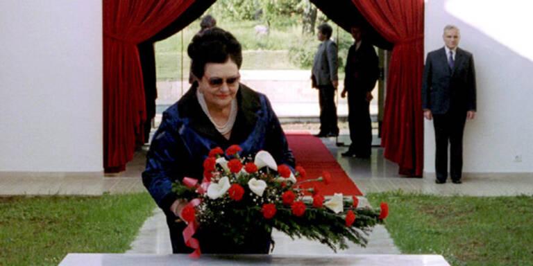 Titos Witwe wird am Samstag beigesetzt