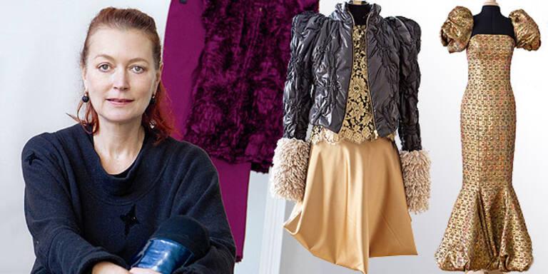 Ingried Brugger zeigt erste Modekollektion