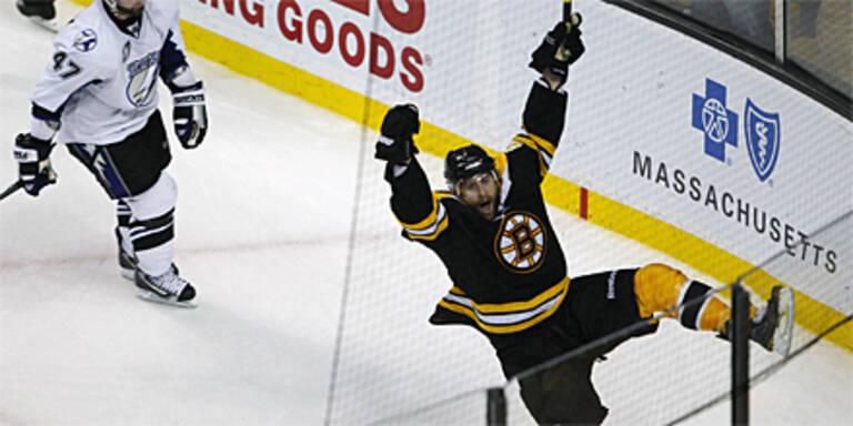 Boston holt sich ersten Matchpuck
