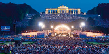 Schönbrunn-Event als Zitterpartie